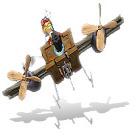 لعبة  El Airplane