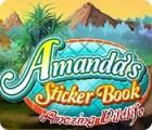 لعبة  Amanda's Sticker Book: Amazing Wildlife