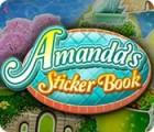 لعبة  Amanda's Sticker Book