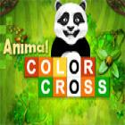 لعبة  Animal Color Cross
