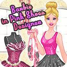 لعبة  Barbie in Pink Shoes Designer