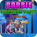 لعبة  Barbie Valentine Party