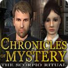 لعبة  Chronicles of Mystery: The Scorpio Ritual