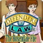 لعبة  Defenders of Law: The Rosendale File