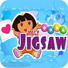 لعبة  Dora the Explorer: Jolly Jigsaw