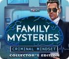 لعبة  Family Mysteries: Criminal Mindset Collector's Edition