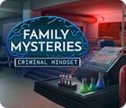 لعبة  Family Mysteries: Criminal Mindset