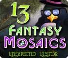 لعبة  Fantasy Mosaics 13: Unexpected Visitor