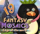 لعبة  Fantasy Mosaics 19: Edge of the World