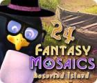 لعبة  Fantasy Mosaics 24: Deserted Island