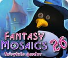 لعبة  Fantasy Mosaics 26: Fairytale Garden