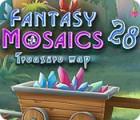 لعبة  Fantasy Mosaics 28: Treasure Map