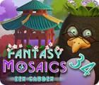 لعبة  Fantasy Mosaics 34: Zen Garden