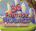 لعبة  Fantasy Mosaics 36: Medieval Quest