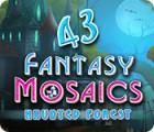 لعبة  Fantasy Mosaics 43: Haunted Forest