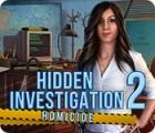 لعبة  Hidden Investigation 2: Homicide
