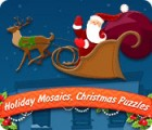 لعبة  Holiday Mosaics Christmas Puzzles