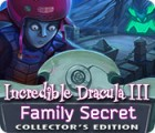 لعبة  Incredible Dracula III: Family Secret Collector's Edition