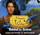 لعبة  Memoirs of Murder: Behind the Scenes Collector's Edition