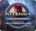 لعبة  Ms. Holmes: Five Orange Pips Collector's Edition