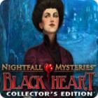 لعبة  Nightfall Mysteries: Black Heart Collector's Edition