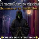 لعبة  Paranormal Crime Investigations: Brotherhood of the Crescent Snake Collector's Edition
