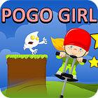 لعبة  PoGo Stick Girl!
