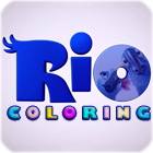 لعبة  RIO Movie Coloring