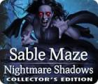 لعبة  Sable Maze: Nightmare Shadows Collector's Edition