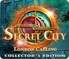 لعبة  Secret City: London Calling Collector's Edition