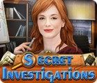 لعبة  Secret Investigations