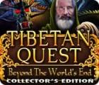 لعبة  Tibetan Quest: Beyond the World's End Collector's Edition
