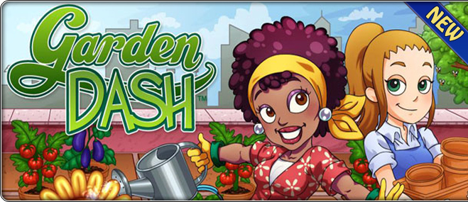 Garden Dash exclusive game