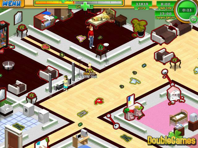 Free Download Babysitting Mania Screenshot 1