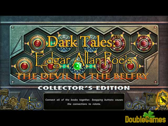 تحميل مجاني للقطة من لعبة  Dark Tales: Edgar Allan Poe's The Devil in the Belfry Collector's Edition 3