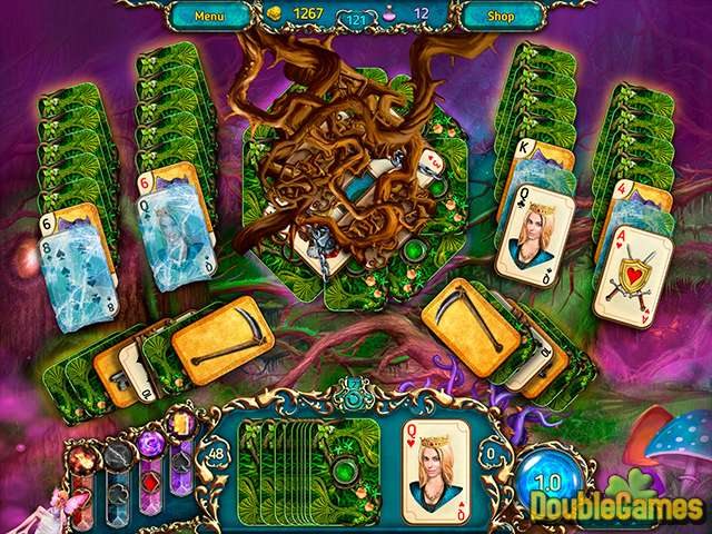 تحميل مجاني للقطة من لعبة  Dreamland Solitaire: Dark Prophecy Collector's Edition 3