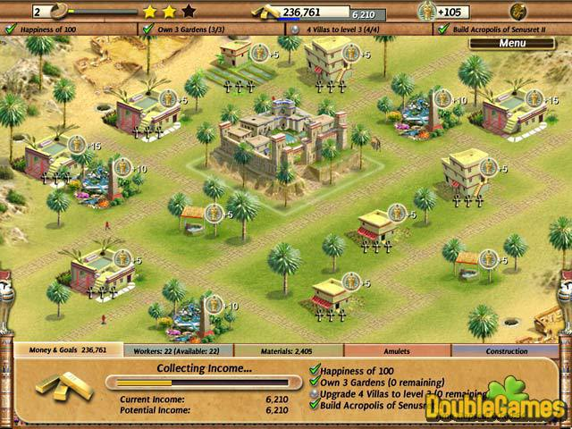Free Download Empire Builder - Ancient Egypt Screenshot 1