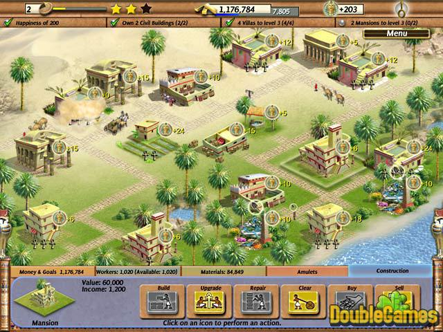 Free Download Empire Builder - Ancient Egypt Screenshot 3