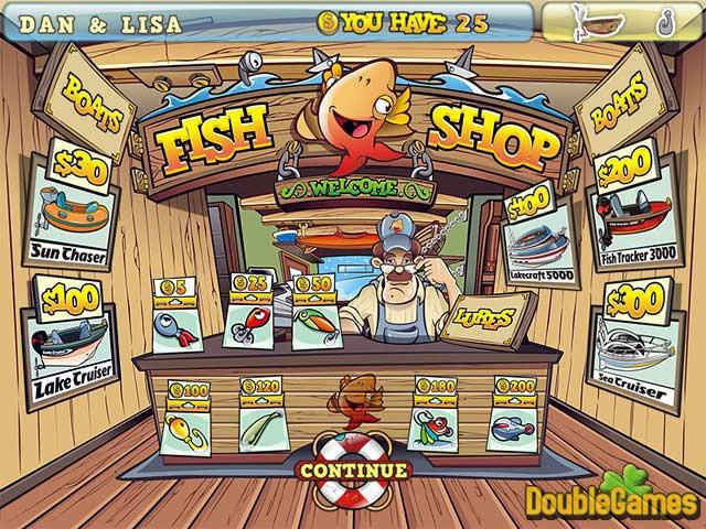 لعبة صيد السمك الرائعة fishing craze